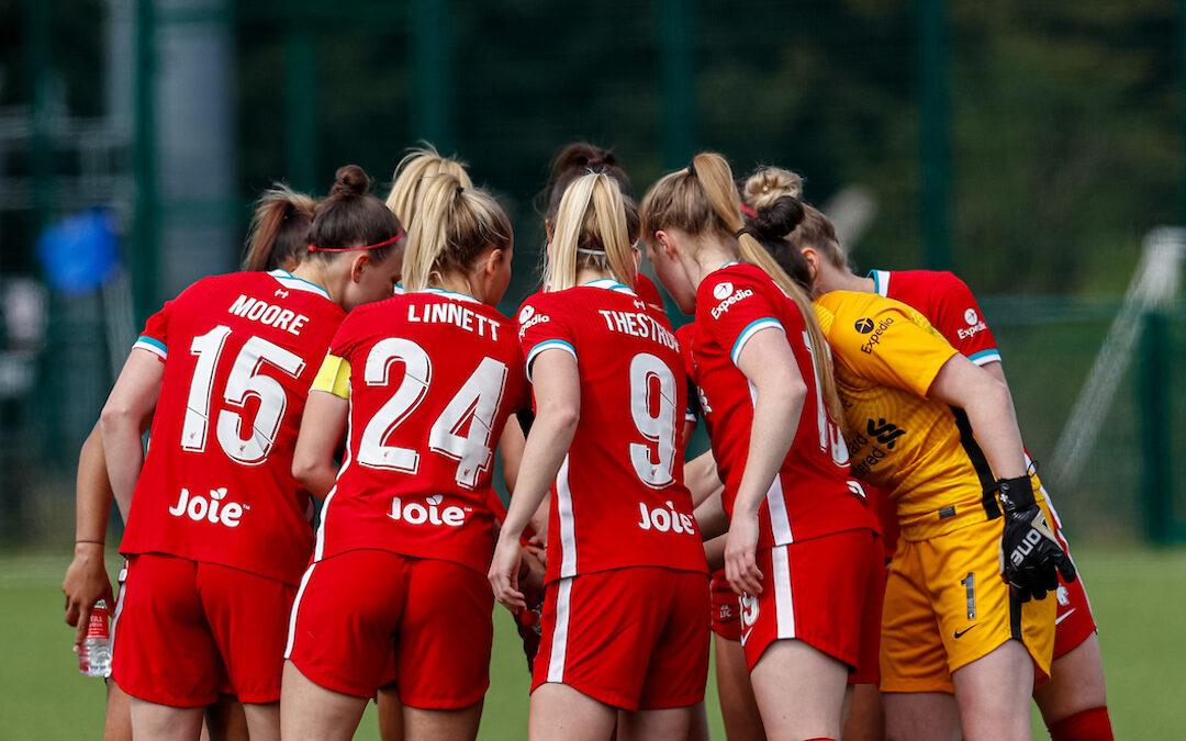 Liverpool FC Women during last season