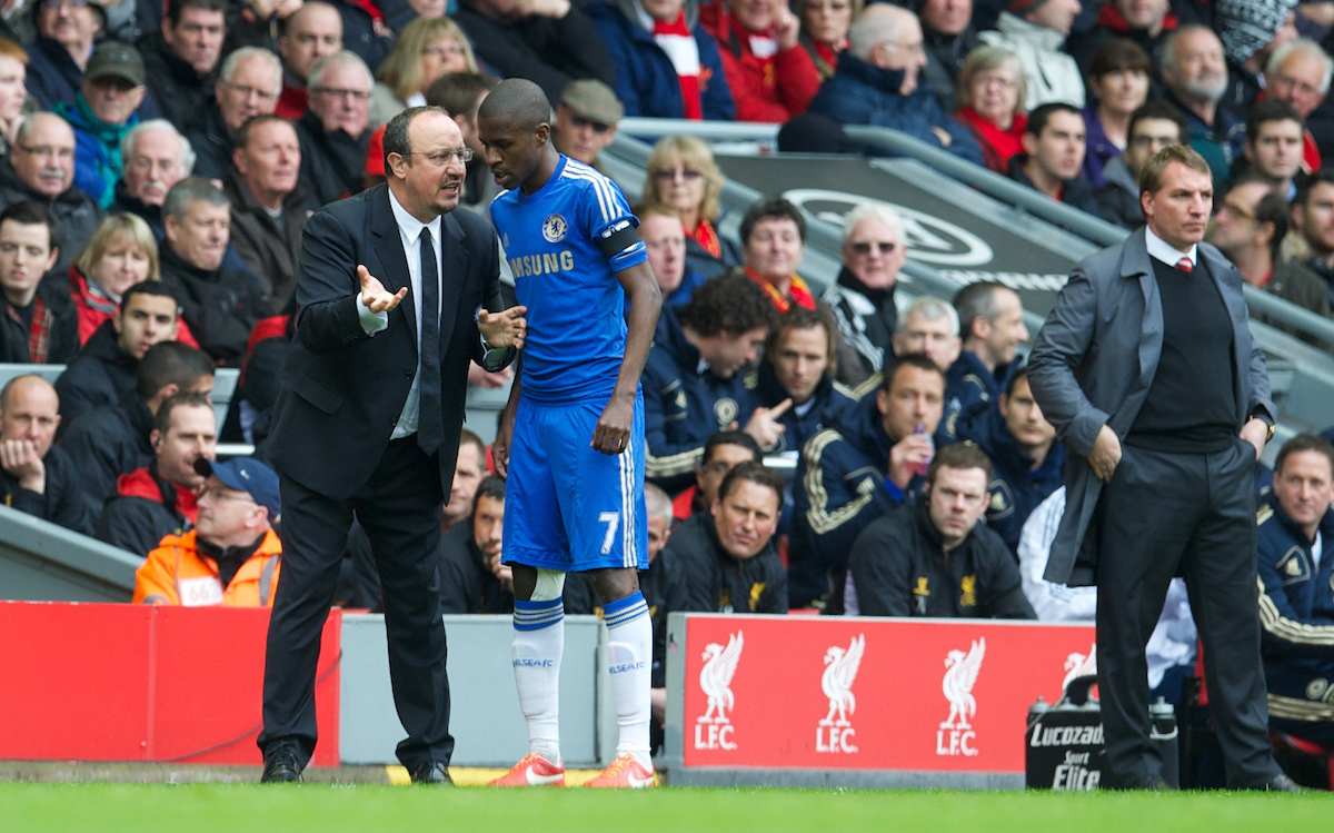 Rafa Benitez as Chelsea manager