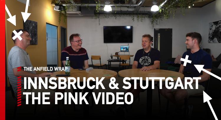 Liverpool v Innsbruck & Stuttgart | The Pink Video