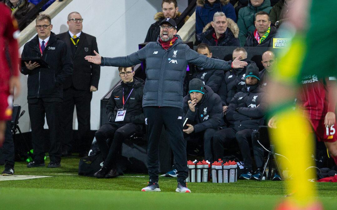 Norwich v Liverpool & The Transfer Window: TAW Live