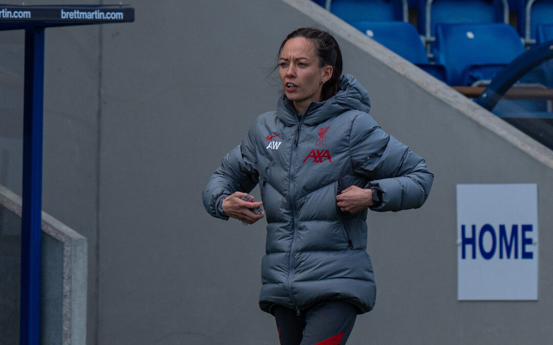 LFC Women Coach Amber Whiteley: In The Dugout