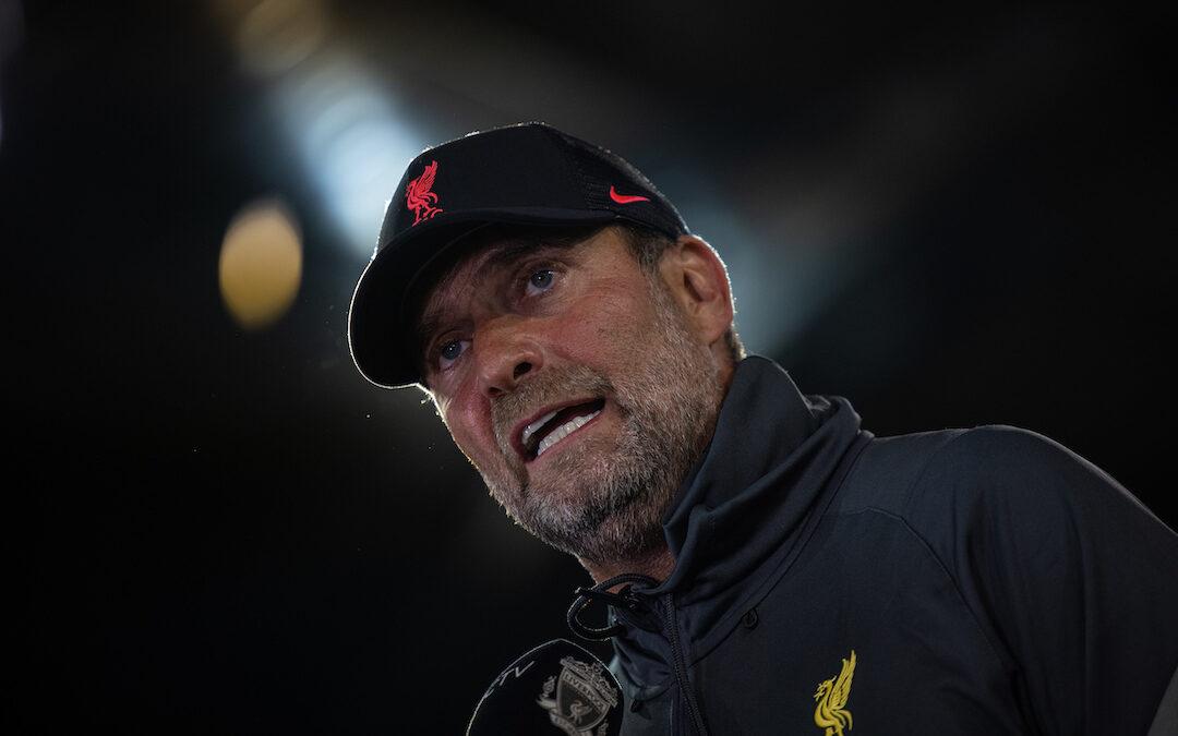 Norwich City v Liverpool: Team Talk