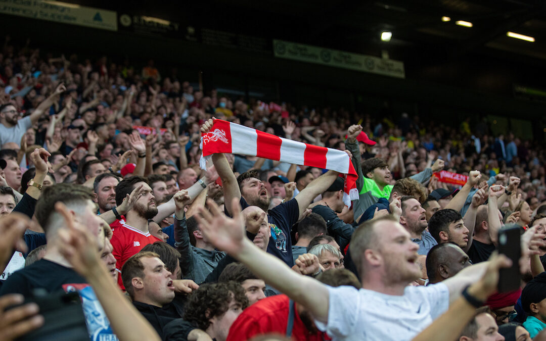 Norwich City 0 Liverpool 3: The Away Fans Perspective