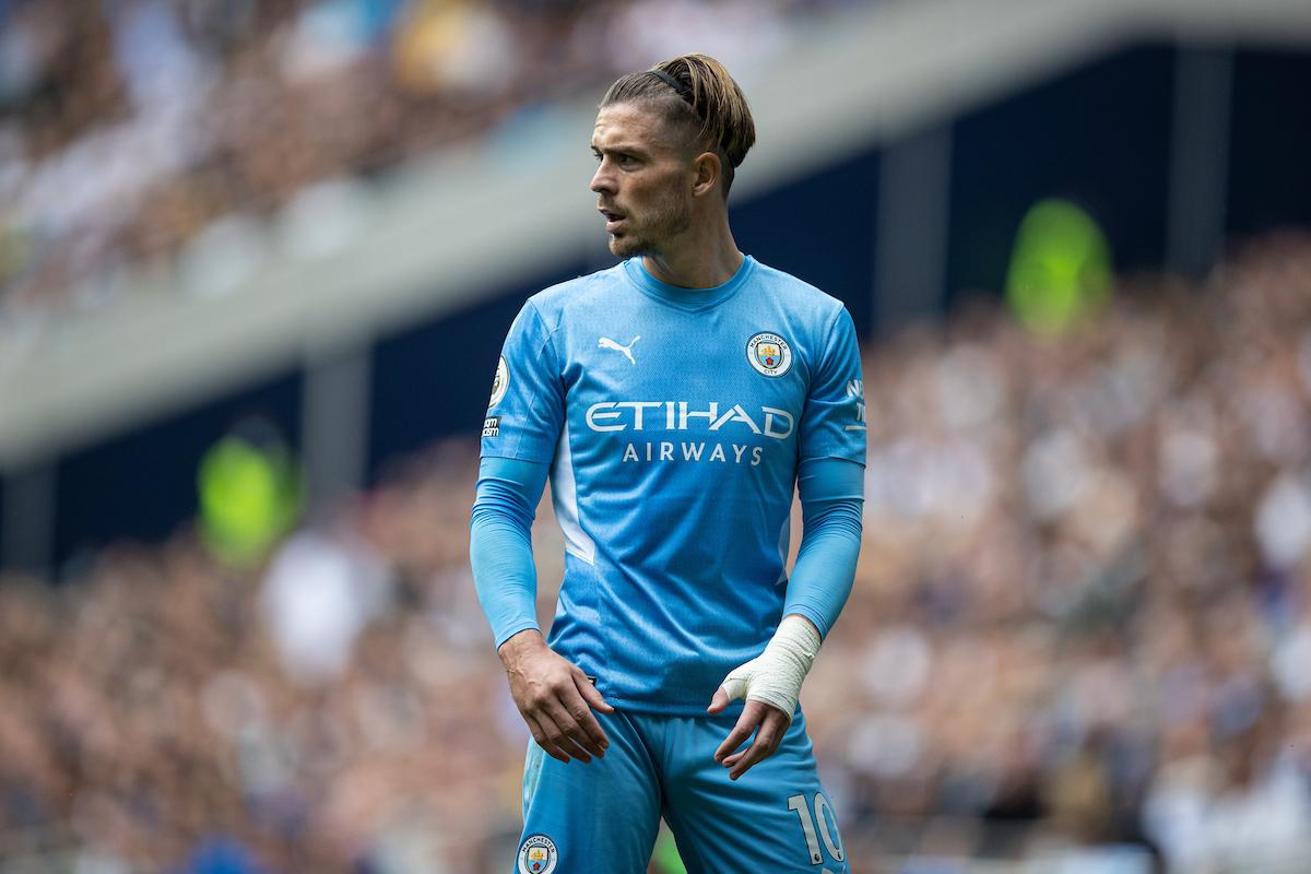 Manchester City's Jack Grealish