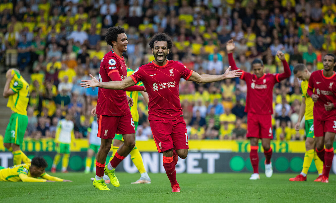Norwich City 0 Liverpool 3: Match Ratings