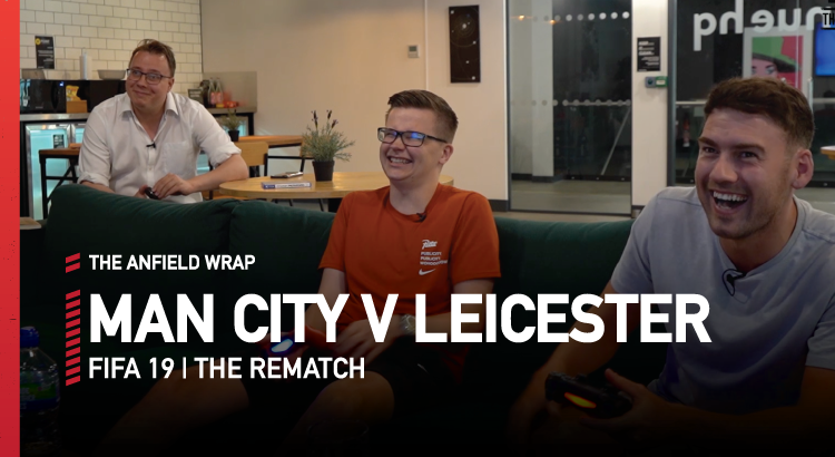 Manchester City v Leicester – FIFA 19 | The Rematch