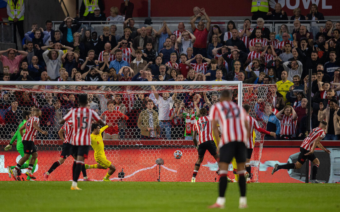 Brentford 3 Liverpool 3: The Review