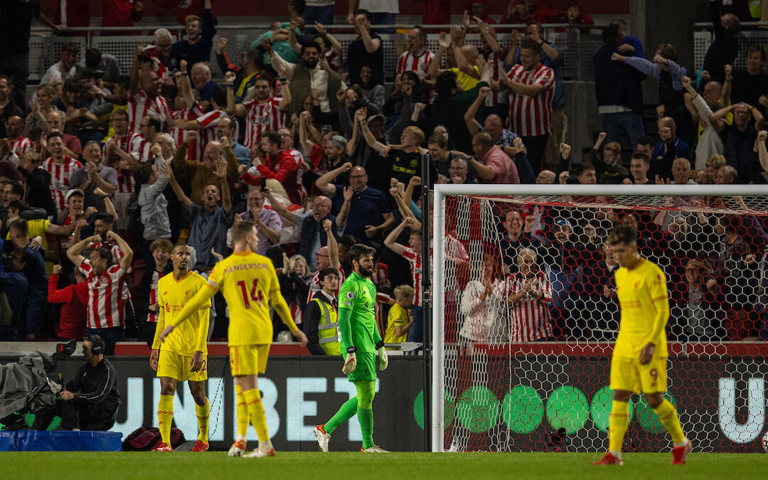 Why The Brentford Draw Felt Like A Defeat For Liverpool