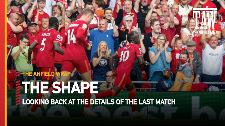 Liverpool 3 Crystal Palace 0 | The Shape