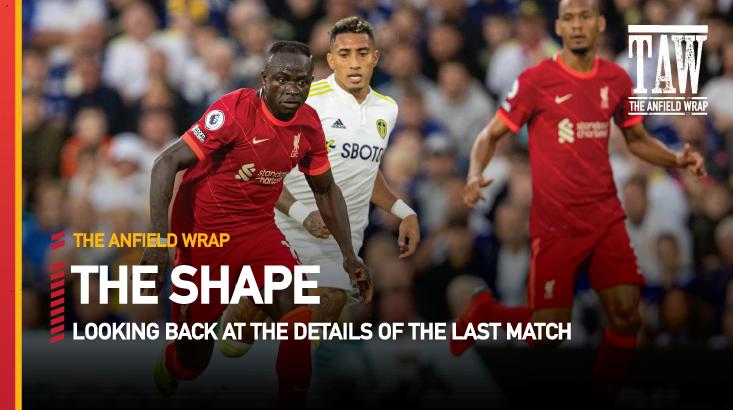 Leeds United 0 Liverpool 3 | The Shape
