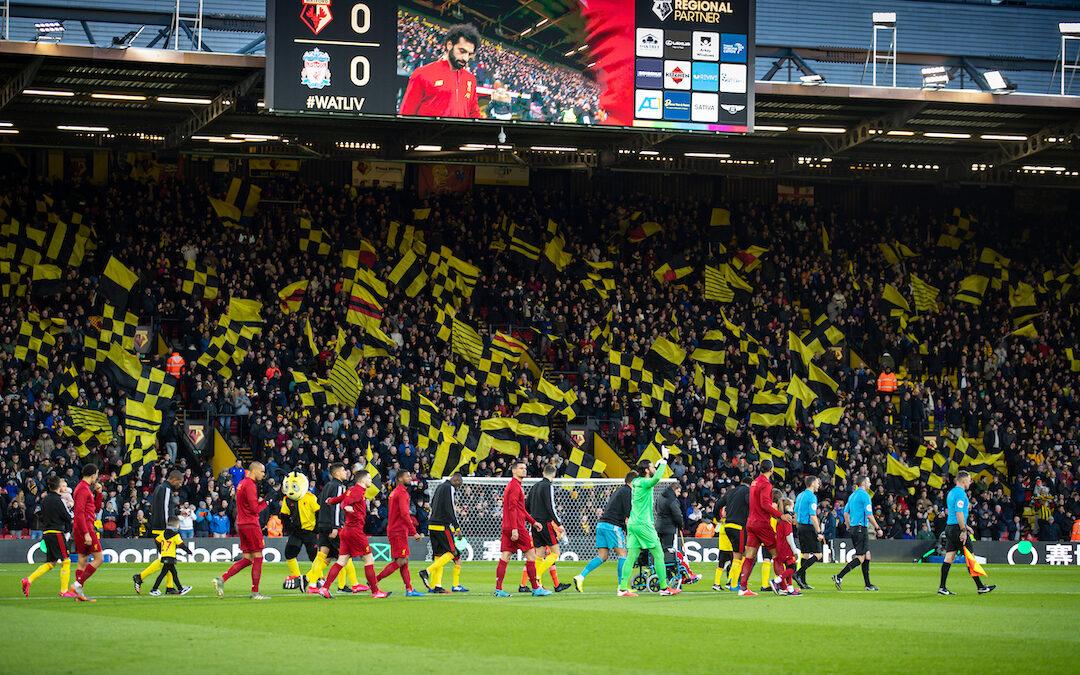Watford v Liverpool: TAW Live
