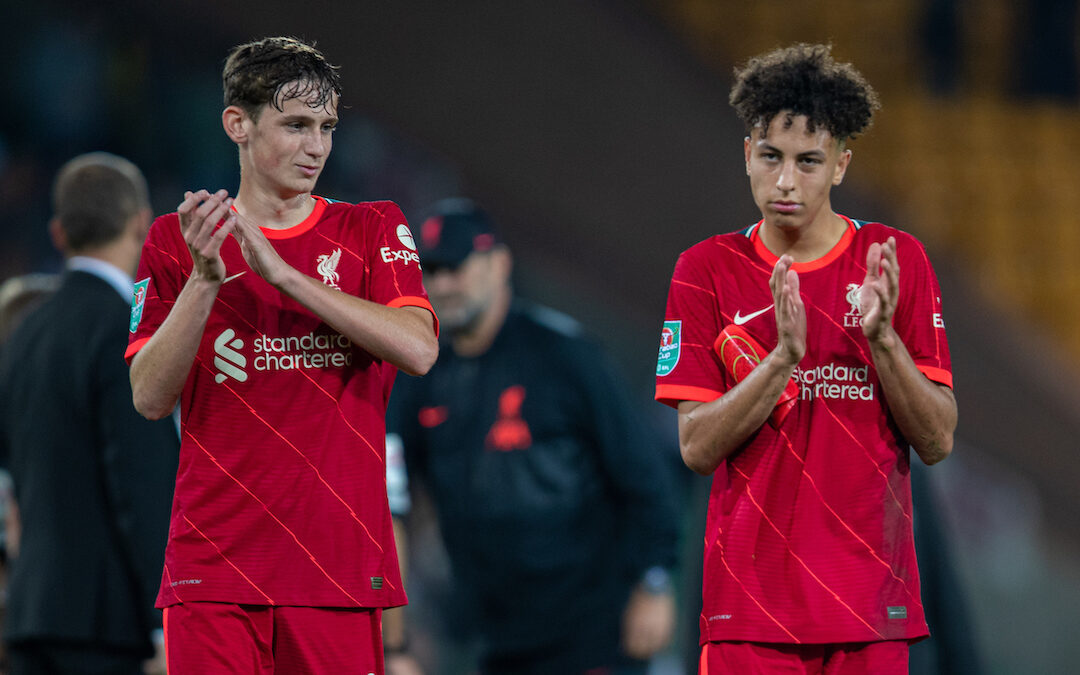 Liverpool Academy Players To Watch: One For The Future