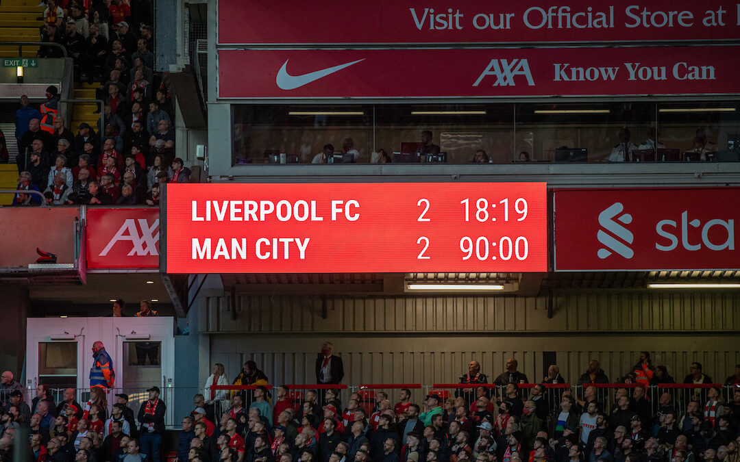 Liverpool 2 Manchester City 2: The Anfield Wrap